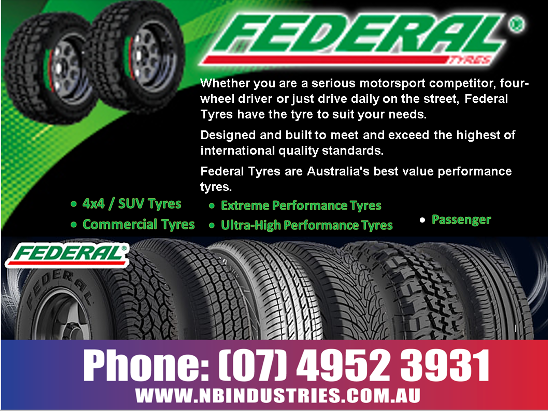 Federal Tyres - Posted By Kelly Clements